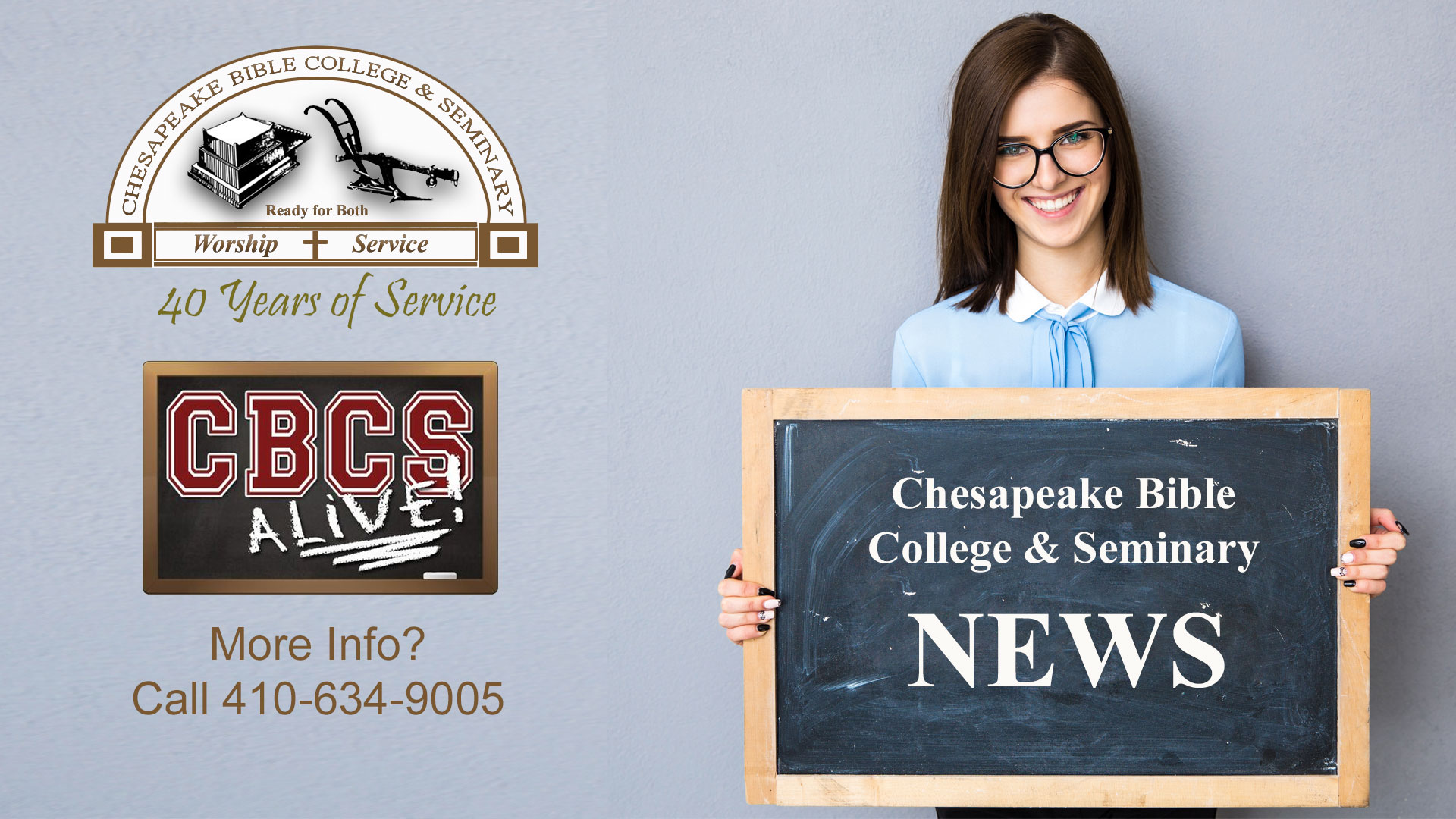 Chesapeake Bible College & Seminary - News