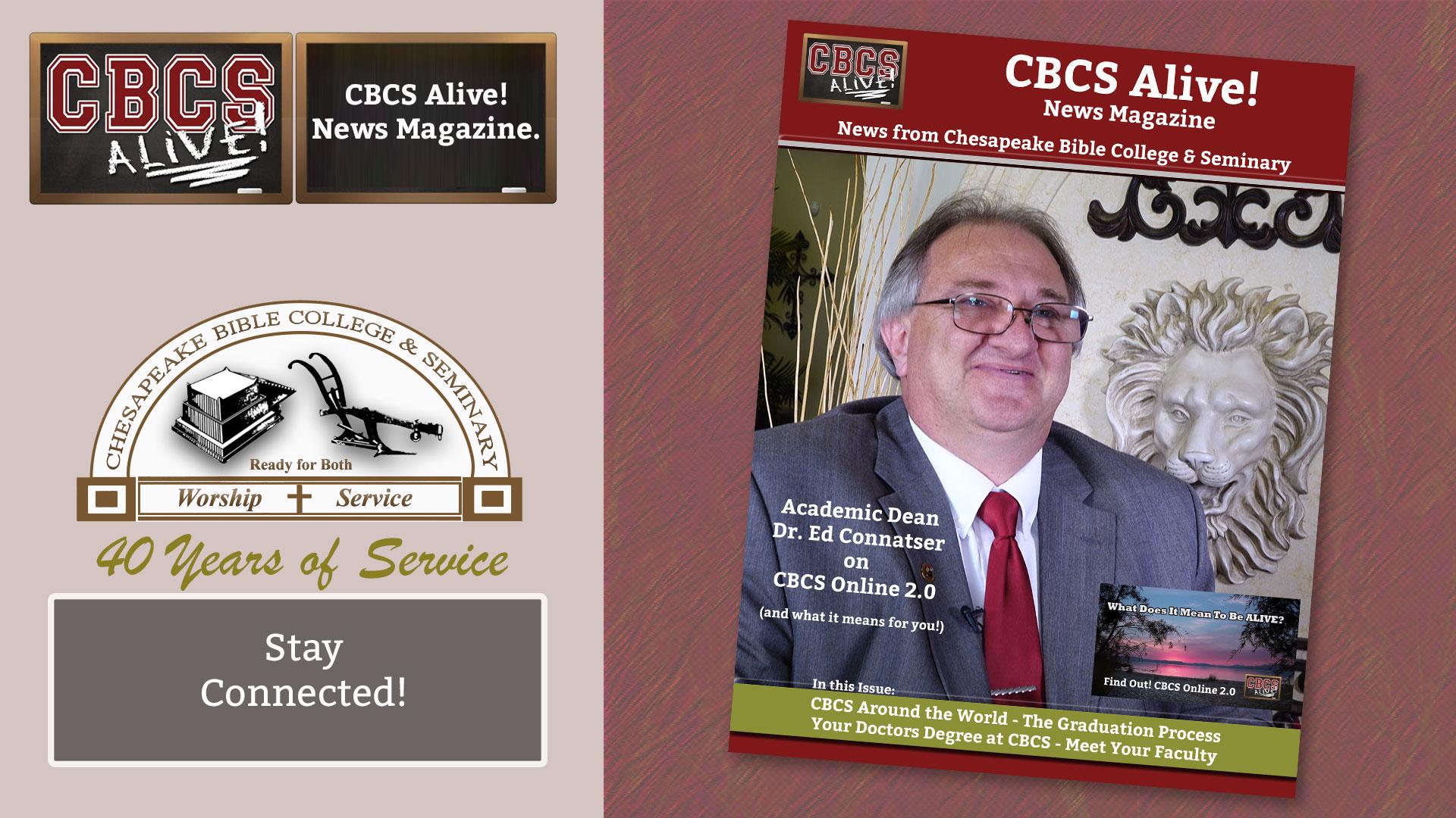 CBCS Alive! News Magazine