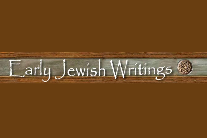 Early Jewish Writing
