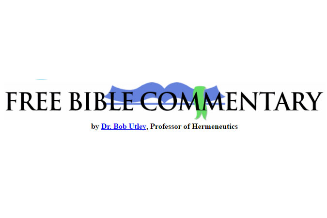 Free Bible Commentary
