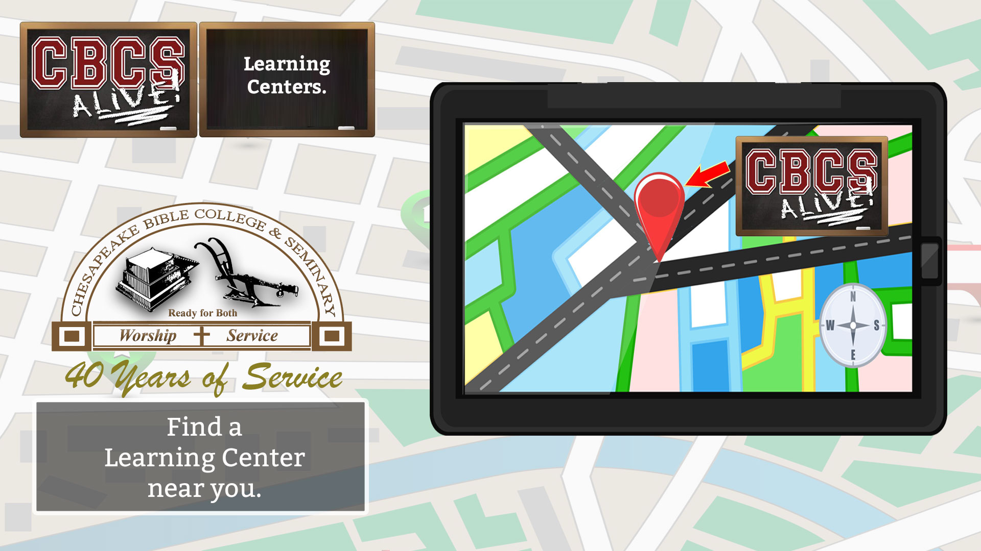 Chesapeake Bible College & Seminary Distance Learning Centers