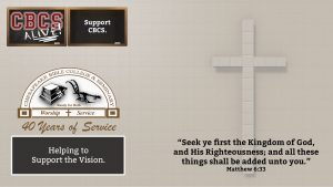 Chesapeake Bible College & Seminary - Support the Vision