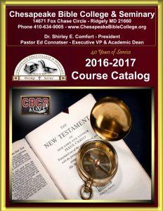 2016-2017 CBCS Course Catalog