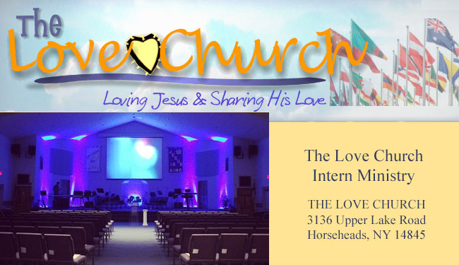 Love Church Intern Ministry - Horseheads NY