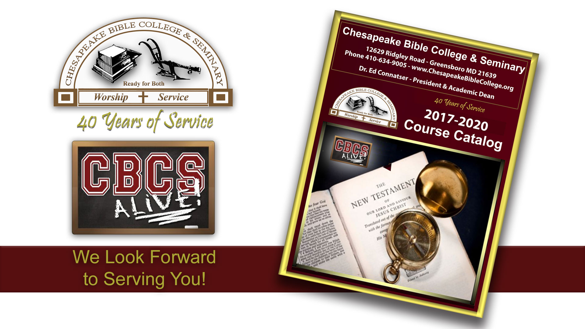 Chesapeake Bible College & Seminary Course Catalog
